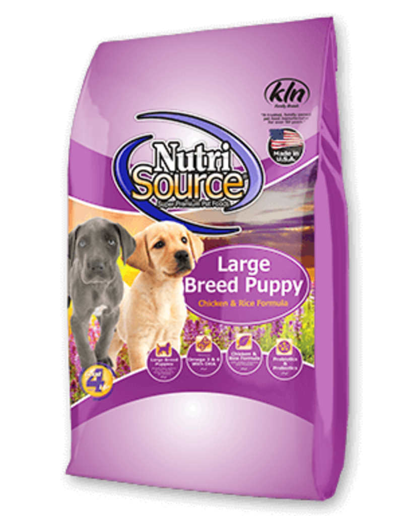 Nutrisource NutriSource Large Breed Puppy Chicken and Rice Food