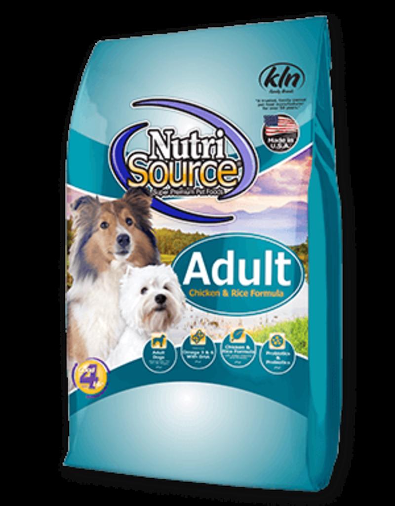 Nutrisource NutriSource Adult Chicken & Rice Dog Food