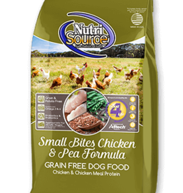 Nutrisource NutriSource Grain Free Small Breed Chicken & Pea Dog Food