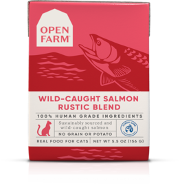 Open Farm Open Farm Wild-Caught Salmon Rustic Blend Canned CAT Food 5.5oz