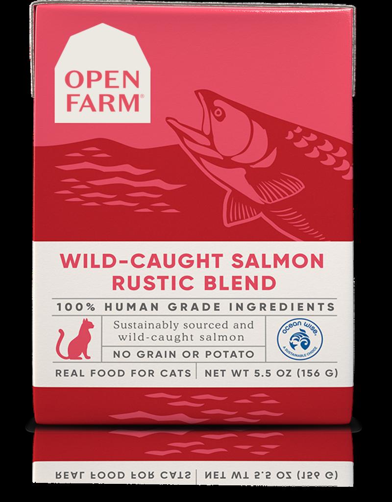 Open Farm Open Farm Wild-Caught Salmon Rustic Blend Canned CAT Food 5.5oz