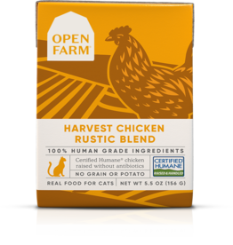 Open Farm Open Farm Harvest Chicken Rustic Blend Canned CAT Food 5.5oz