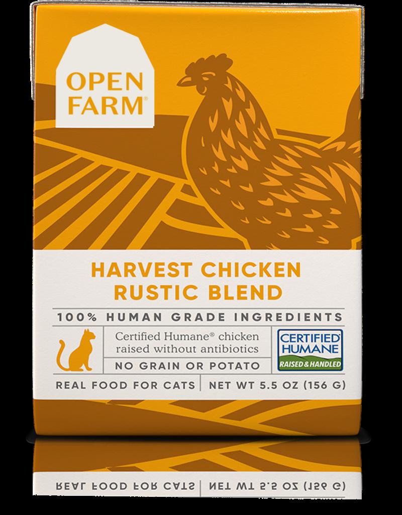 Open Farm Open Farm Harvest Chicken Rustic Blend Canned CAT Food 5.5oz