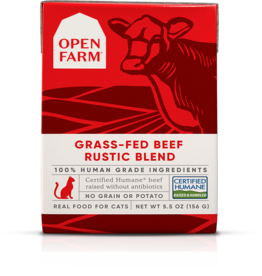 Open Farm Open Farm Grass-Fed Beef Rustic Blend Canned CAT Food 5.5oz