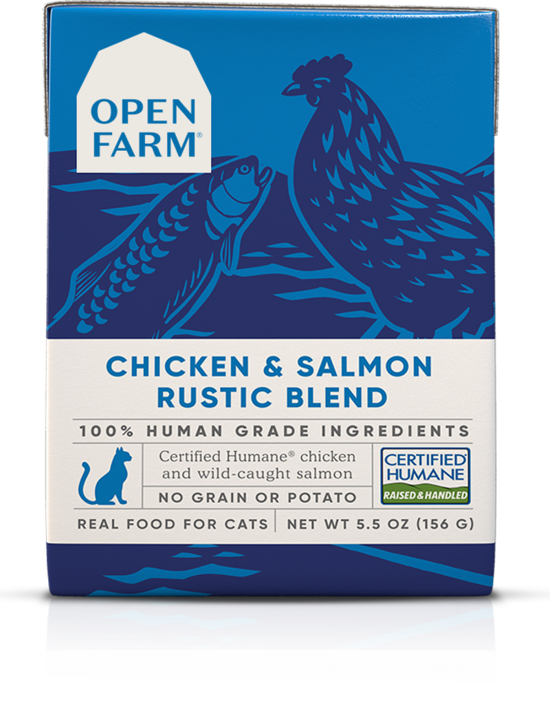 Open Farm Open Farm Chicken & Salmon Rustic Blend Canned CAT Food 5.5oz