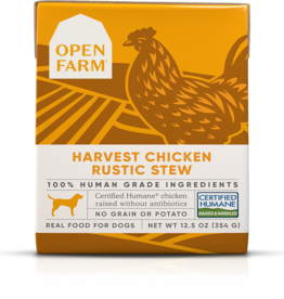 Open Farm Open Farm Harvest Chicken Rustic Stew Canned DOG Food 12.5oz