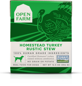 Open Farm Open Farm Homestead Turkey Rustic Stew Canned DOG Food 12.5oz