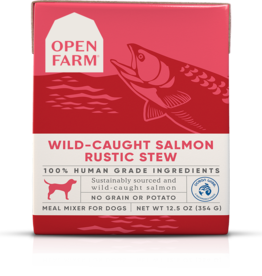 Open Farm Open Farm Wild-Caught Salmon Rustic Stew Canned DOG Food 12.5oz