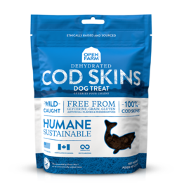 Open Farm Open Farm Dehydrated Cod Skin Dog Treats 2.25oz