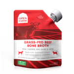 Open Farm Open Farm Grass-Fed Beef Bone Broth Dog 12oz
