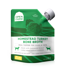 Open Farm Open Farm Homestead Turkey Bone Broth Dog 12oz