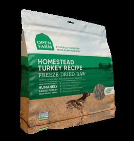Open Farm Open Farm Freeze Dried Raw Homestead Turkey Dog Food 13.5oz