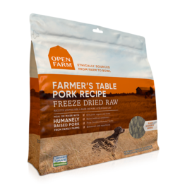 Open Farm Open Farm Freeze Dried Raw Farmer's Table Pork Dog Food 13.5oz