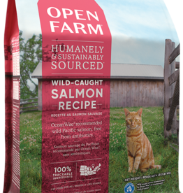 Open Farm Open Farm Wild-Caught Salmon Cat Food 4lb