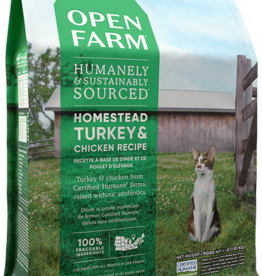 Open Farm Open Farm Homestead Turkey & Chicken Cat Food 4lb