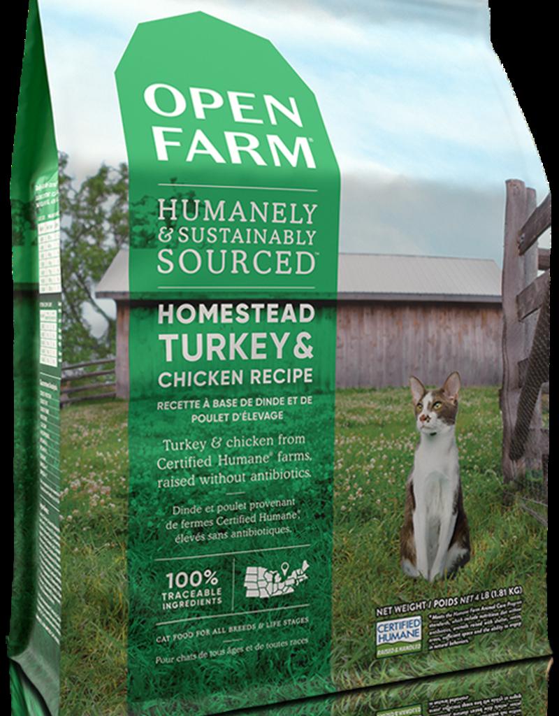 Open Farm Open Farm Homestead Turkey & Chicken Cat Food 4lb