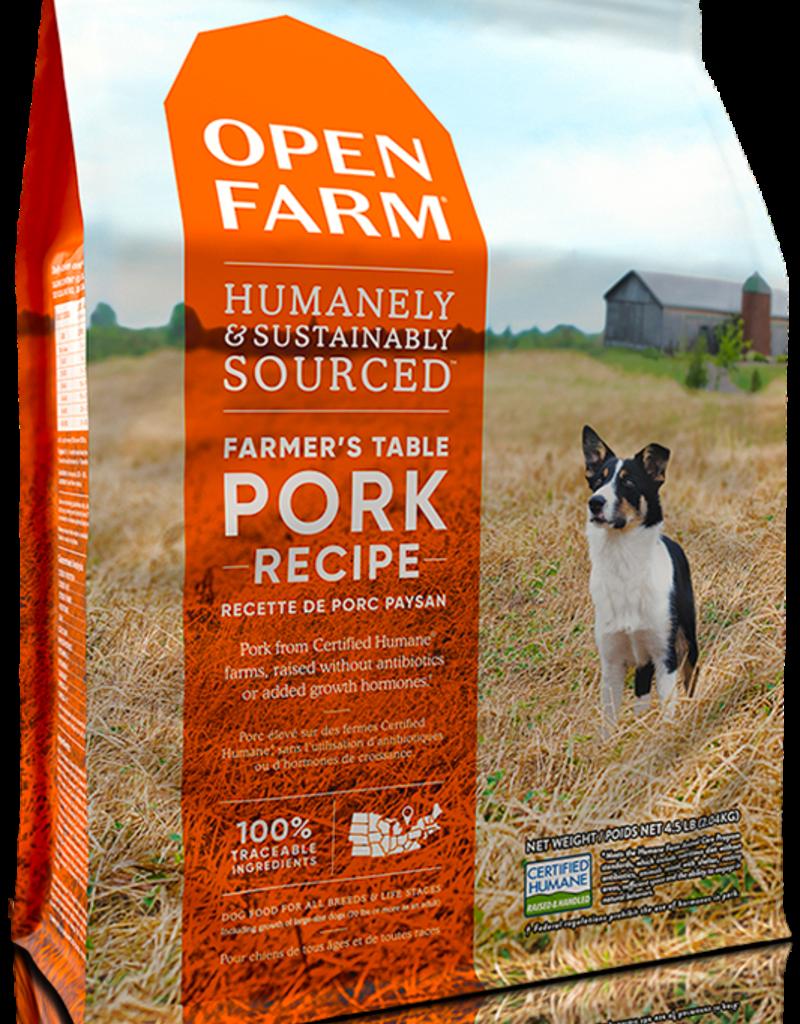 Open Farm Open Farm Farmer's Table Pork Dog Food