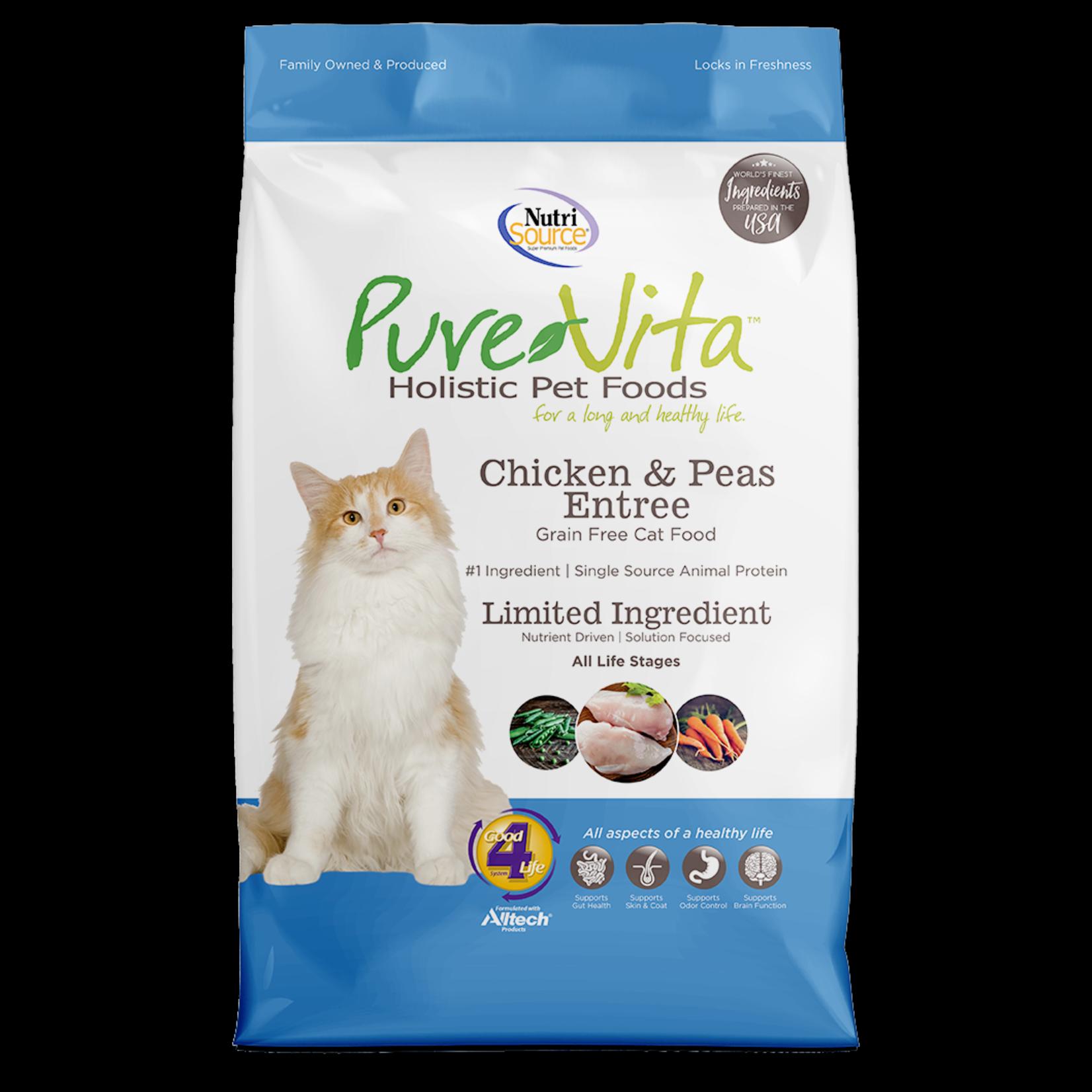 Pure Vita Pure Vita Grain Free Chicken & Pea Cat Food