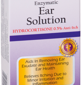 Zymox ZYMOX Ear Solution With 0.5% Hydrocortisone 1.25oz