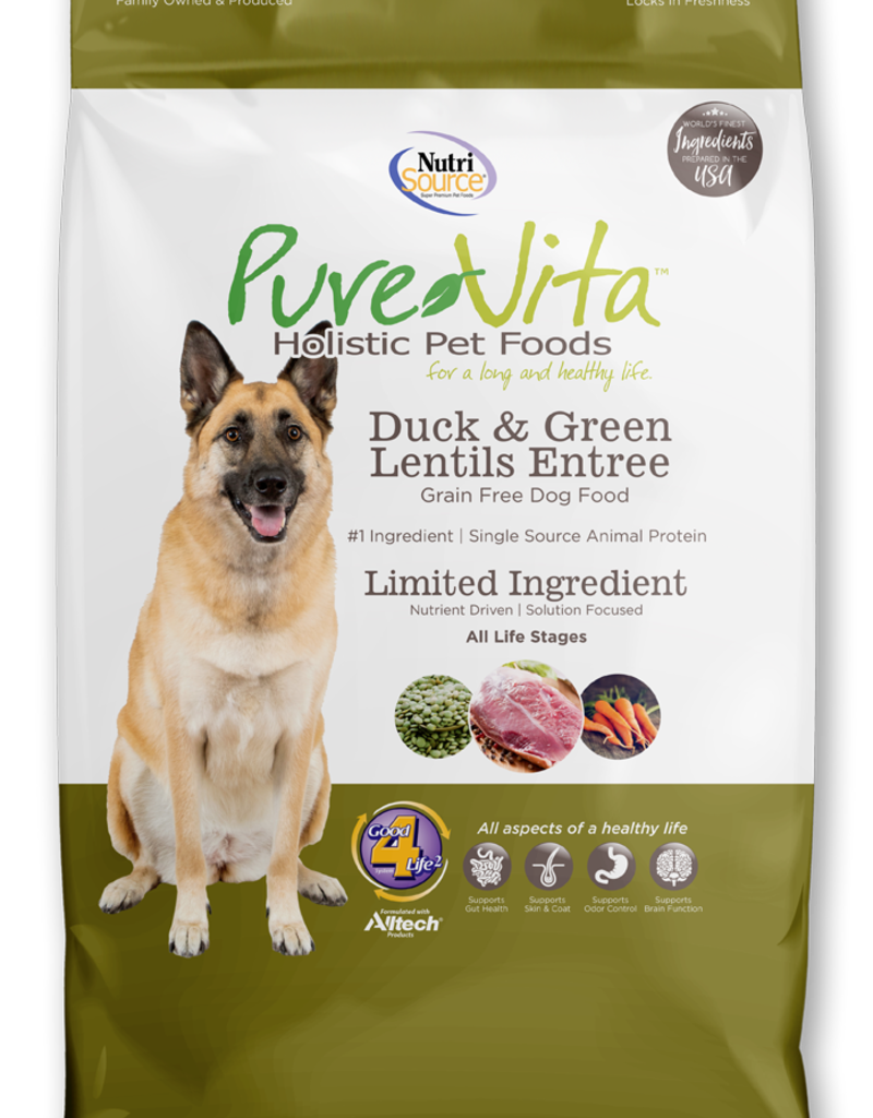 Pure Vita Pure Vita Grain Free Duck & Green Lentil Dog Food
