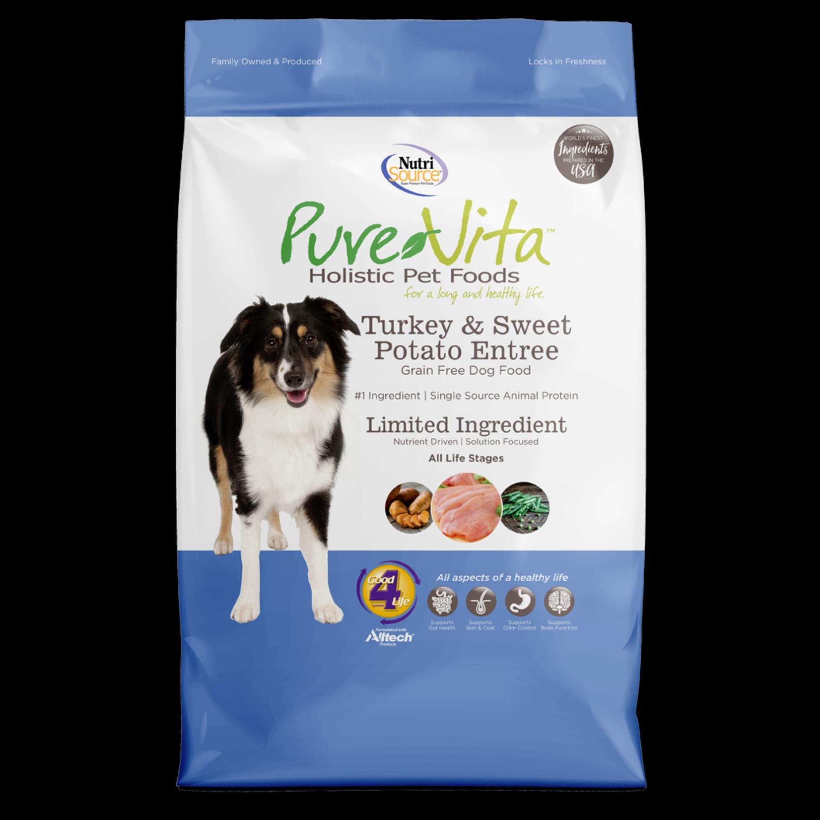 Pure Vita Pure Vita Grain Free Turkey & Sweet Potato Dog Food