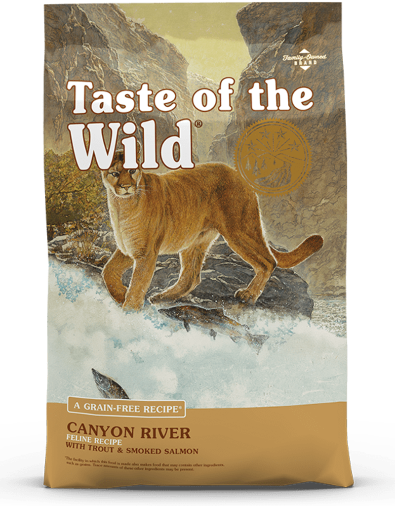 Taste of the Wild Taste of the Wild Canyon River Feline Cat Food