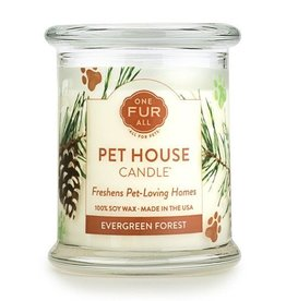 Pet House Pet House Candle Evergreen 8.5oz