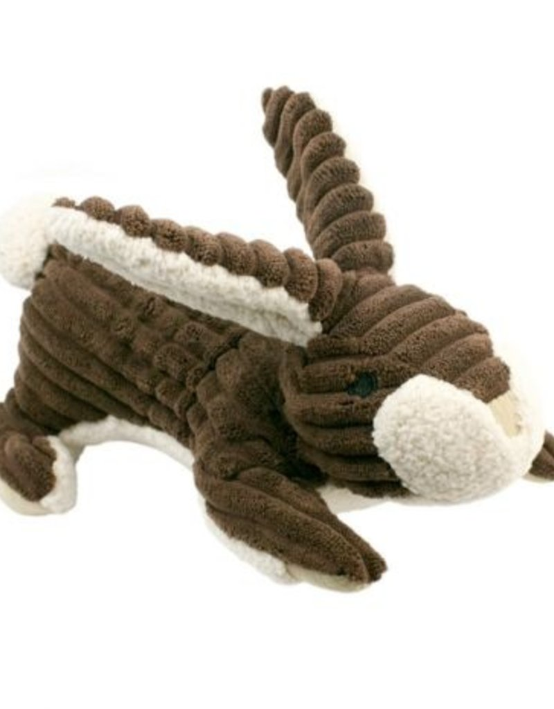 """Tall Tails TALL TAILS Rabbit with Squeaker 9"""" Dog Toy"""