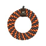 """Tall Tails TALL TAILS Braided Ring Orange & Charcoal Dog 6"""""""