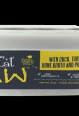 Tiki Cat & Tiki Dog Tiki Cat Frozen Raw Duck with Turkey Bone Broth & Pumpkin Cat Food