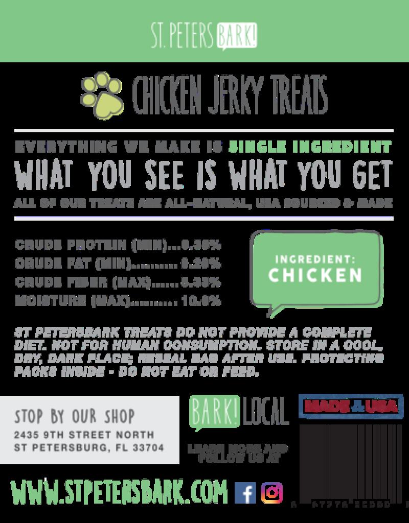 St PetersBARK! St. PetersBARK! Chicken Jerky Dog Treats 3.5oz