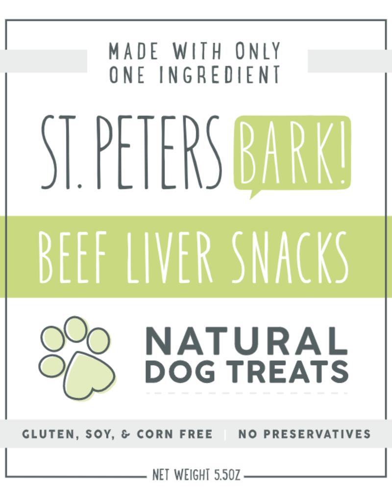 St PetersBARK! St. PetersBARK! Beef Liver Dog Treats 5.5oz