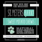 St PetersBARK! St. PetersBARK! Sweet Potato Chews Dog Treat 6oz