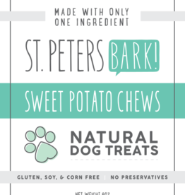St PetersBARK! St. PetersBARK! Sweet Potato Chews Dog Treat 6oz