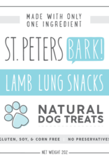 St PetersBARK! St. PetersBARK! Lamb Lung Dog Treat 2oz