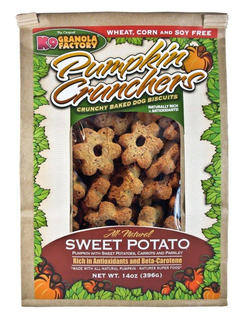K9 Granola Factory K9 Granola Factory Pumpkin Cruncher Sweet Potato Dog Treats 14oz