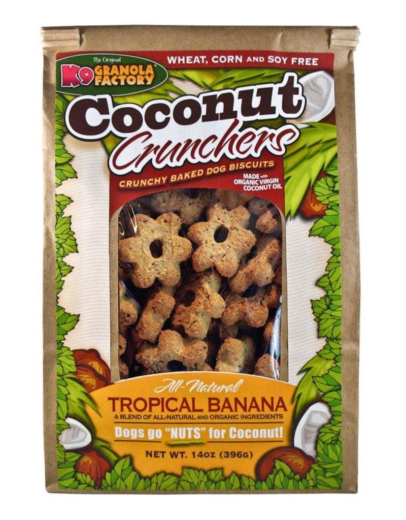 K9 Granola Factory K9 Granola Factory Coconut Crunchers Tropical Banana Dog Treats 14oz
