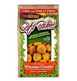 K9 Granola Factory K9 Granola Factory Soft Bakes Wisconsin Cheddar Dog Treats 12oz