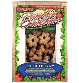 K9 Granola Factory K9 Granola Factory Pumpkin Crunchers Blueberry Dog Treats 14oz