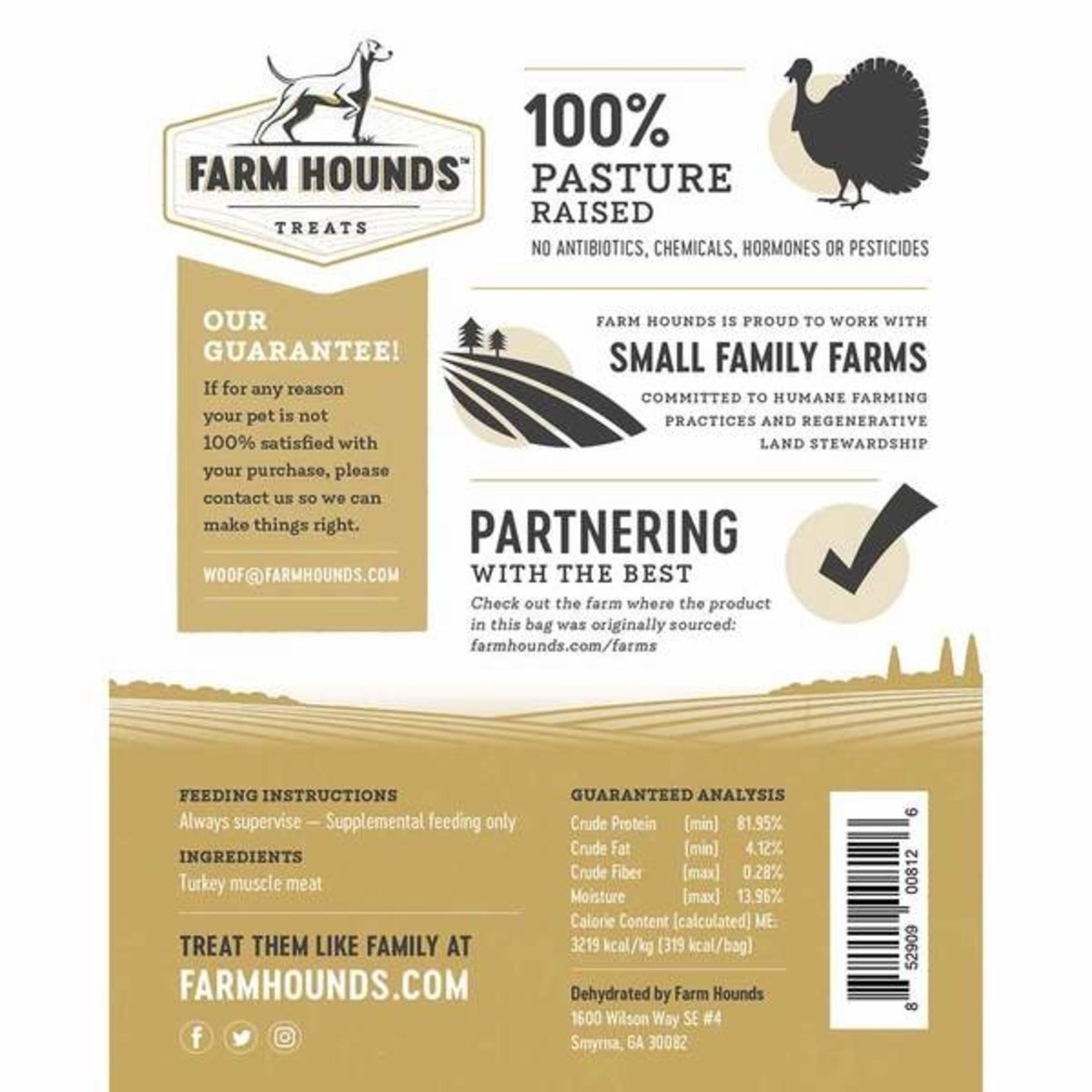 Farm Hounds FARM HOUNDS Turkey Jerky Dog Treats 3.5oz