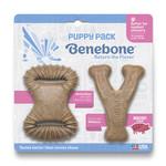 Benebone Benebone Bacon Flavor Puppy Pack 2 Chew Toys