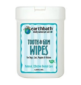 Earthbath EARTHBATH Tooth & Gum Wipes 25ct