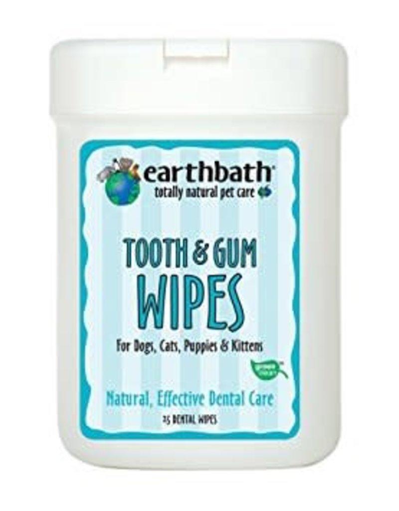 Earthbath EARTHBATH Tooth & Gum Wipes 25ct