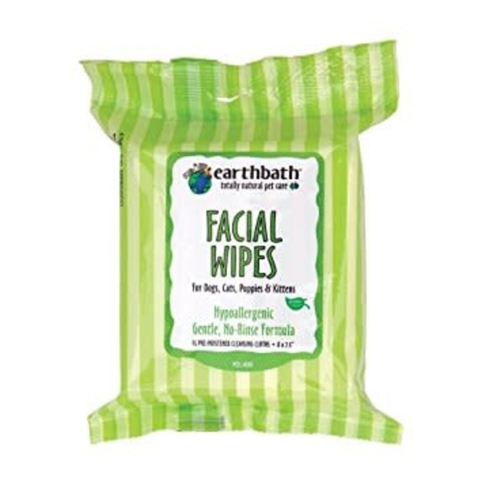 Earthbath EARTHBATH Facial Wipes 25ct