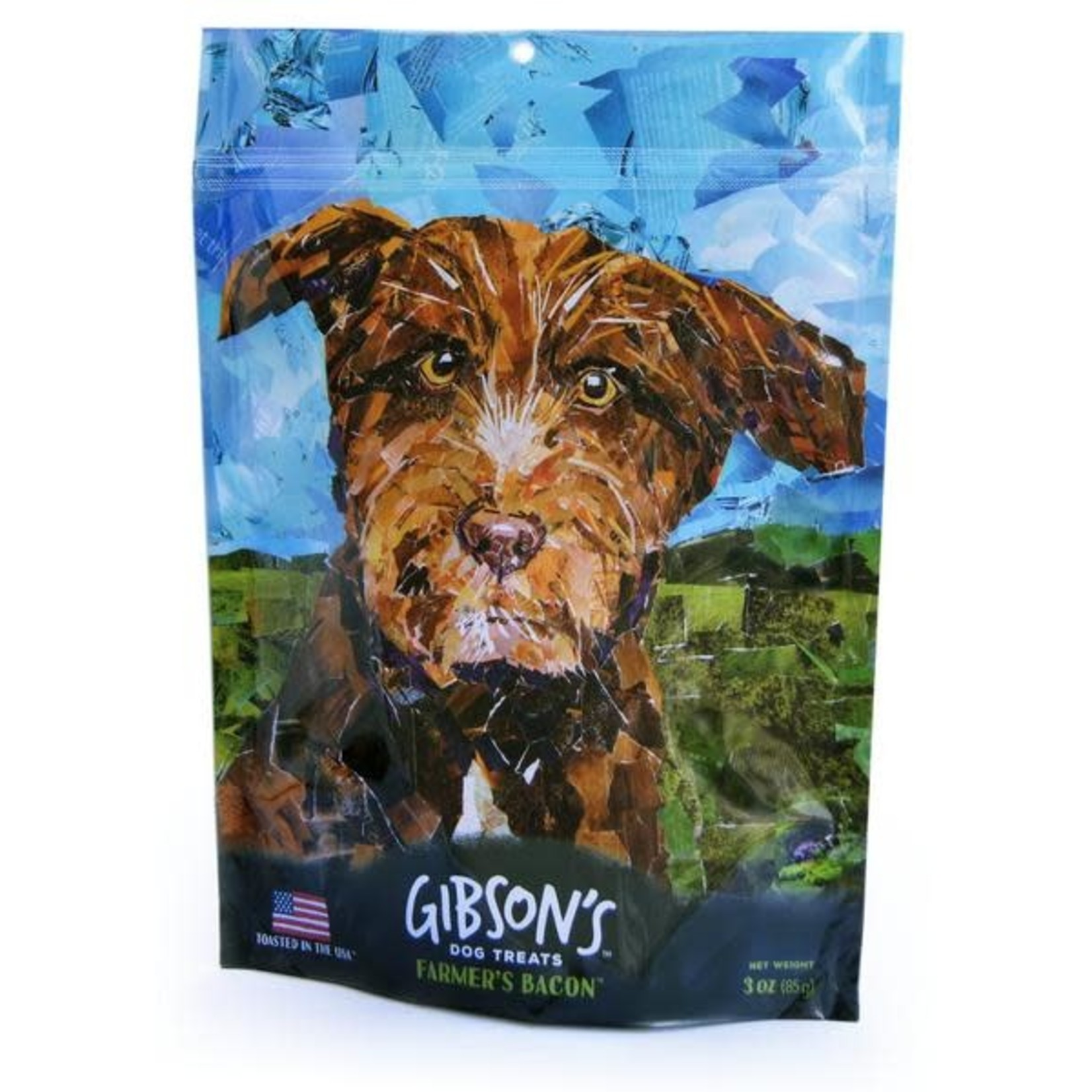 Wild Meadow Farms GIBSON'S Farmer's Bacon Jerky Dog Treats 3oz