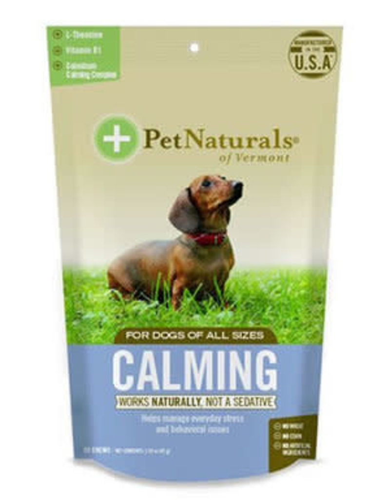 Pet Naturals of Vermont PetNaturals Calming Dog Supplement Chews 30ct