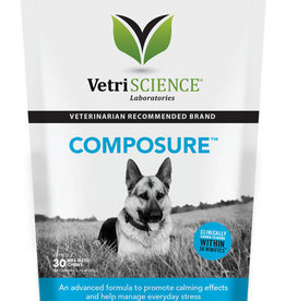 Pet Naturals of Vermont VETRI Composure Bite-Sized Dog Supplement Chews 30ct