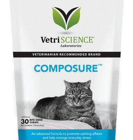 Pet Naturals of Vermont VETRI Composure Bite-Sized Cat Supplement Chews 30ct