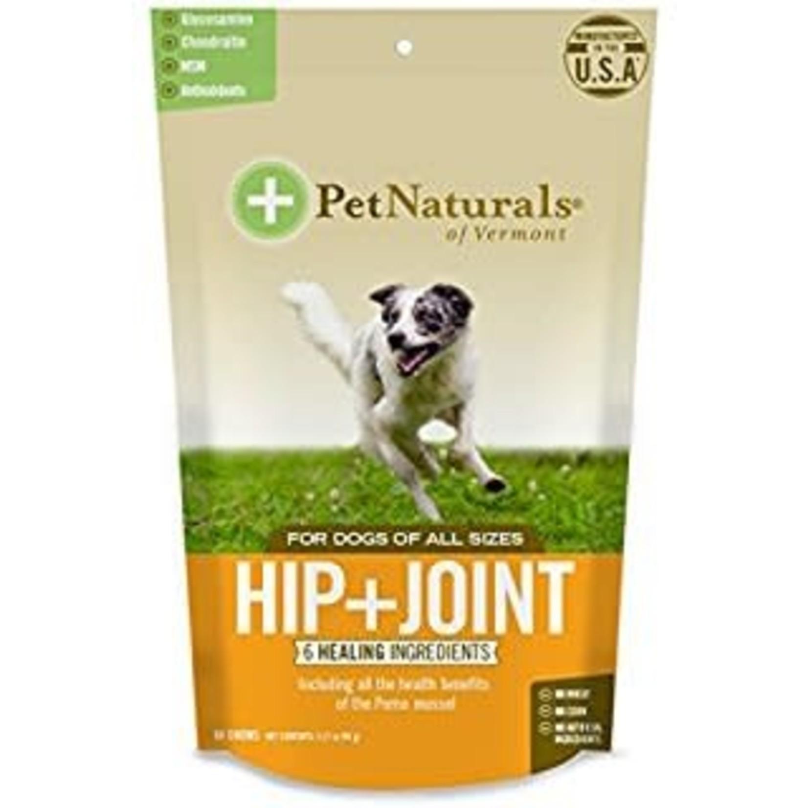 Pet Naturals of Vermont PetNaturals Hip + Joint Dog Supplement Chews 60ct