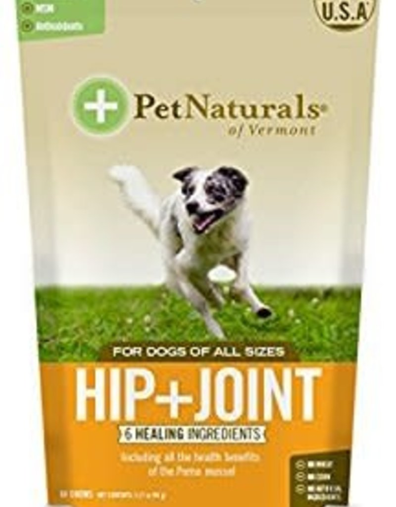 Pet Naturals of Vermont PetNaturals Hip + Joint Dog Supplement Chews 60ct